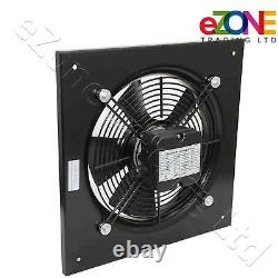 Industrial Wall Mounted Extractor Fan 12 Quiet Commercial Ventilation+Speed Ctr