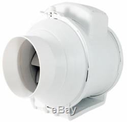 Inline Ventilation Duct Fan Industrial aRil Extractor Regulated Air Flow