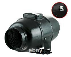 Inline fan Extractor fan Sound insulated Ventilator TT Silent M 200 mm 1020 m3/h