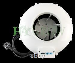 MaxiFan Extractor Fan (TF RVK) 4 5 6 8 10 Hydroponic Ventilation Maxi Fan