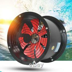 Metal Ducting Extractor Fan 1300cubic/H Inline Industrial Ventilator