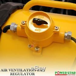 New Atex Portable Ventilator Axial Fan Ducting Blower Metal Extractor Industrial