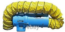 OneDRY 12 Extractor Utility Fume Axial Air Blower Ventilation Fan 15 Duct Hose