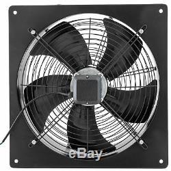Outer Rotor Fan 20in Ventilation Fan Garage Exhaust Fan Extractor Speed 1380Rpm