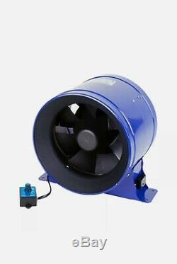 Phresh Hyper Fan V2 6 150mm Digital EC Extractor Fan 560m3/hr Ventilation