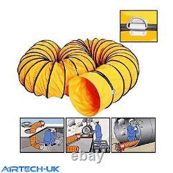 Portable Ducting Air Transfer Compact Fan Workshop Extractor Fan Heavy Duty