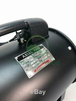 Portable Extractor Fan Blower Garage MOT Workshop Exhaust Ventilation 450 mm