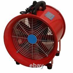 Portable Industrial Ventilator Axial Blower Workshop Extractor Fan 8 200mm