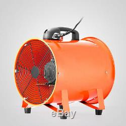 Portable Industrial Ventilator Axial Extractor Fan 250mm (10) With 5m Duct New