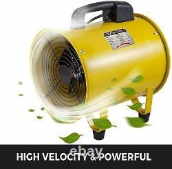 Portable Industrial Ventilator Extractor Fan Blower Fan 406mm (16) + 5m Duct