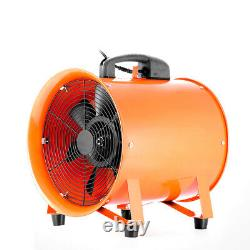 Portable Ventilator Axial Blower Ducting Extractor Industrial Fan 12 with 5m Duct
