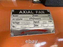 Portable Ventilator Axial Blower Workshop Ducting Extractor Industrial Fan