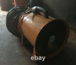 Portable Ventilator Axial Blower Workshop Extractor Fan 300MM 12