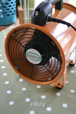 Portable Ventilator Axial Blower Workshop Extractor Fan 8 With 5m Ducting Hose