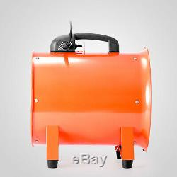 Portable Ventilator Industrial Axial Metal Blower Workshop Dust Extractor 220V