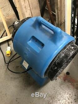 Power Blower Ventilator Fume Extractor Americ VAF 3000 -Fan Spray Booth -110 C