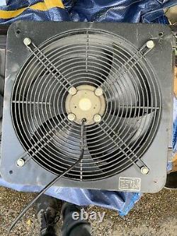 Powerstar Electrical Industrial Ventilation Extractor Metal Axial Exhaust Fan
