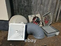 Powrmatic Industrial/Commercial 500mm Power Roof Extractor Ventilation Fans x2