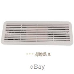RV Camper Vent Grille Wall Ventilation Extractor Cover Outlet Grill With FAN