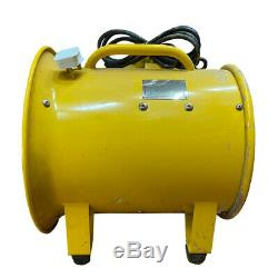 Refurbished Atex Portable Ventilator Axial Fan Ducting Blower Metal Extractor