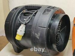 Rhino 110v Fume Extractor Fan + Duct 300mm Air 12 Ventilator Spray Booth Blower