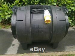 Rhino H03038 Power Blower Ventilator Fume Extractor Fan Spray Booth 110v