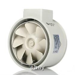 Rohrventilator Kanalventilator Innenabgas Belüftung Extractor Fan 1850-2250r/min