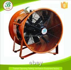 SHT-45 Portable Ventilator Axial Blower Workshop Extractor Fan 450 mm