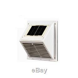 SOLAR VENT FAN VENTILATOR WALL EXTRACTOR VENTILATOR Model SWF-101 home