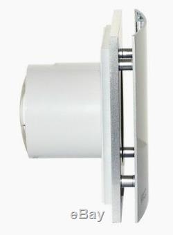 S&P Silent Design EXTRA QUIET Bathroom Ventilator Extractor Fan 4 + HUMIDISTAT