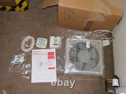 Vent Axia LoWatt wired TX9WW 9 Window Extractor Fan + wired controller New 2nds