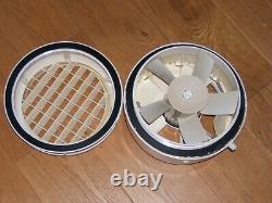 Vent Axia S9WW 9 Window Extractor Fan, Used & tested MK2 white, with Shutters