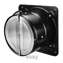 Ventilation Extractor Fan Metal Booster Exhaust Intake Window Pipe For Bathroom