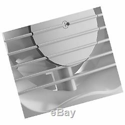 Xpelair 93225AW Bathroom Ventilation Wall/Ceiling Extractor Fan, 240 V, White